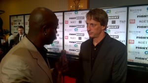 Zig Ziegler and skateboard legend Tony Hawk